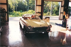 Volvo 1800S before restoration part 1
