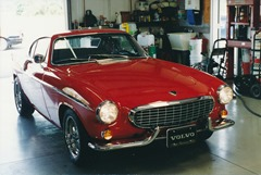 Volvo 1800S after restoration - Front